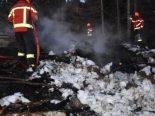 Wildhaus SG - Feuer von Landwirt außer Kontrolle geraten