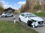 Heftiger Unfall Braunau TG - Drei Verletzte