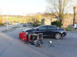 Bülach ZH - 93-Jähriger verletzt sich bei Verkehrsunfall