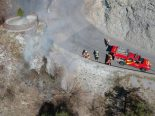 Brand Bonaduz GR - Helikoptereinsatz nötig