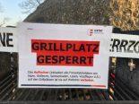 Coronavirus Uster ZH - Grill- und Feuerstellen am Greifensee abgesperrt