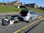 Unfall Luzern LU - Kollision fordert verletzte Person