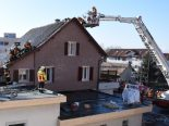 Rüthi SG - Durchfahrt wegen Mottbrand gesperrt