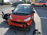 Unfall in Vitznau LU - Motorradfahrer erheblich verletzt