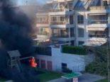 Volketswil ZH - 100'000 Fr. Schaden nach Tiefgaragenbrand
