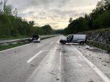 Unfall A7 Wigoltingen TG - Autofahrer (31) mit Lieferwagen kollidiert