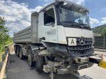 A3 Münchwilen AG - Lastwagenfahrer (35) verunfallt