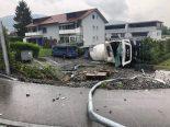 Lostorf SO - Hoher Sachschaden nach LKW-Unfall