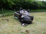 Ziefen BL - Fahrer (28) mit überhöhtem Tempo verunfallt