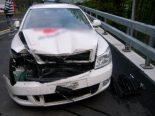 Sisikon UR - Auffahrunfall mit drei Fahrzeugen