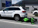 Chur GR - Motorradfahrer (19) bei Unfall verletzt