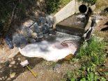 Gewässerverschmutzung Arnegg SG - Heizöl ausgelaufen