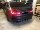 Uster ZH - Enormer Lärm im Zentrum durch BMW-Lenker