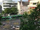 Basel - Burgfelderplatz nach Verkehrsunfall gesperrt
