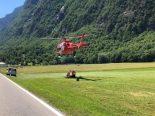 Cabbiolo GR - Gleitschirmpilot auf 1300 m ü. M. abgestürzt