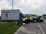 Egerkingen SO - Unfall mit drei beteiligten Fahrzeugen