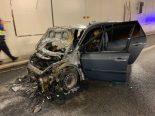 Basel - Autobahn A3 wegen Fahrzeugbrand gesperrt