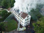 Freienstein ZH - Brand fordert 5 Verletzte