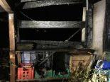 Haslen GL - Bewohner bekämpfen Brand