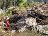 Glarus GL - Brandstiftung und Mottbrand