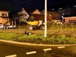 Schmerikon SG - Rollerfahrer bei Selbstunfall lebensbedrohlich verletzt