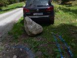 Klosters-Serneus GR - Totalschaden nach Selbstunfall