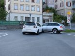 Herisau AR - Verkehrsunfall im Kreisel