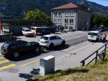 Chur GR - Unfall mit drei Fahrzeugen