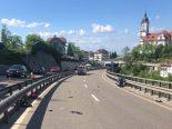 Schindellegi SZ - Motorradlenker schwer verunfallt