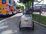 Zug - Fahrradfahrer nach Unfall erheblich verletzt