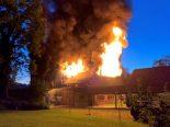 Grüningen ZH - Hoher Sachschaden bei Brand