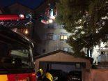 Chur GR - Kerze löst Brand aus, mehrere Häuser evakuiert