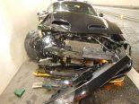 Unfall Roggwil TG - Lernfahrer donnert gegen Tunnelwand