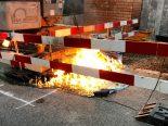 Kreuzlingen TG - Mobile WC-Kabine auf Baustelle in Brand geraten