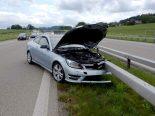 Münchwilen TG - Wegen Sekundenschlaf auf der A1 verunfallt