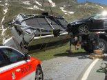 Davos GR - Tödlicher Motorradunfall