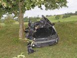 Oberhallau SH - Drei teils Schwerverletzte nach Unfall auf der Bergrennstrecke