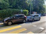 Stadt Schaffhausen - Zwei Unfälle am selben Ort