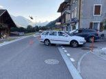 Jaun FR - Radrennfahrer bei Verkehrsunfall verletzt