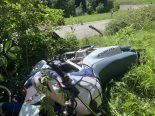 Appenzell AI - Bei schwerem Töffunfall in Stein geprallt