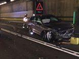 Göschenen UR - Zwei erheblich verletzte Personen nach Unfall mit Frontalkollision