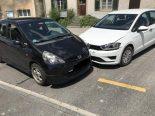Schaffhausen - Kollision zwischen zwei Autos