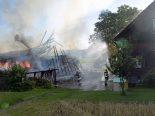Oberkirch LU - Scheune vollständig zerstört