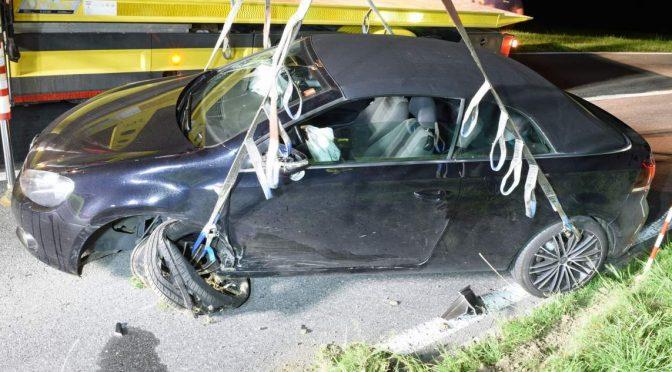 Römerswil LU - Unfall zwischen zwei Autos: Kantonsstrasse 2 ½ Stunden gesperrt