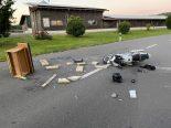Sarmenstorf AG - Motorradlenker bei Unfall mit Pferdekutsche schwer verletzt
