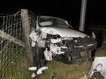 Möhlin AG - Bei Unfall in Kandelaber geprallt
