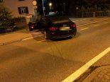 Selbstunfall in Kreuzlingen TG - Betrunkener Fahrer verliert die Kontrolle