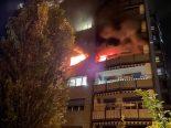 Zofingen AG - 3 Personen im Spital nach Brand in Mehrfamilienhaus