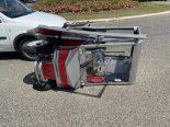 Unfall Neuenhof AG - Auto kollidiert mit Elektromobil