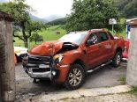 Glarus - Lenker nach Autounfall nicht mehr ansprechbar